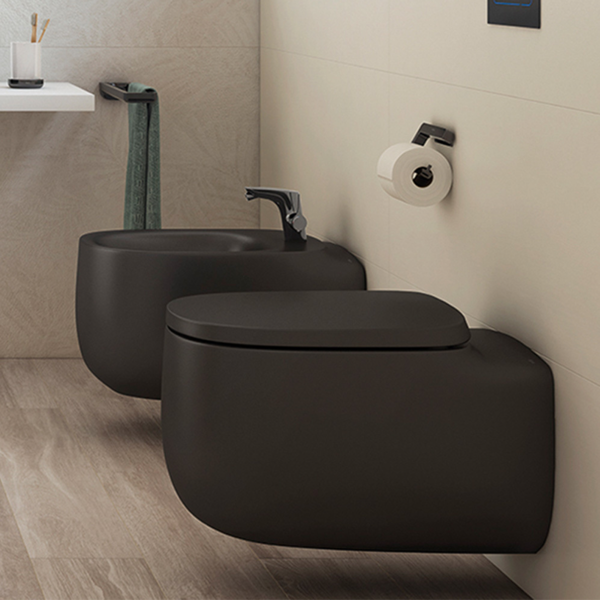 Luxury wall hung toilets